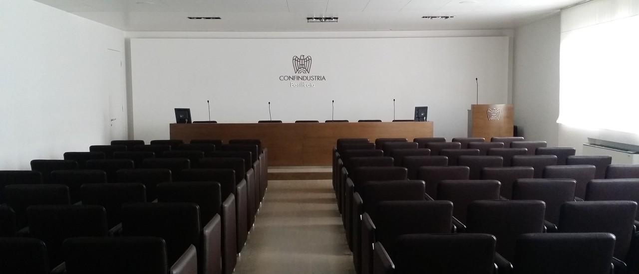 sala convegni CONFINDUSTRIA BASILICATA